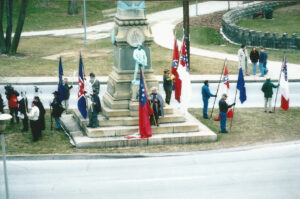"""""""Confederate Place"""" Monument Protest, 01/20/2003"""