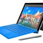 Microsoft Surface Pro 4 with pen and type cover