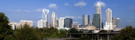 What helps Charlotte businesses address social sustainability?