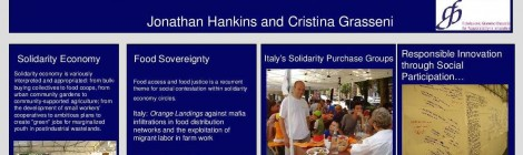 Food Sovereignty and Social Sustainability Through Solidarity Economy Networks