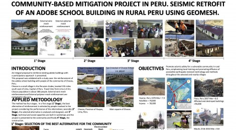 Community-Based Mitigation Project in Peru: Seismic Retrofit of an Adobe School Building in Rural Peru Using Geomesh