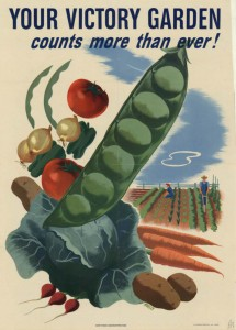 Victory garden poster from Wikipedia (http://en.wikipedia.org/wiki/File:Victory-garden.jpg)