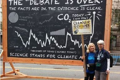 INSS at the People's Climate March