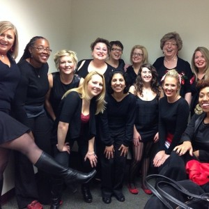 Vagina Monologues 2014 UNC Charlotte faculty/staff  cast