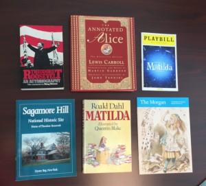 books Mark NY trip