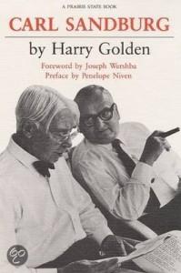 Carl Sandburg and Harry Golden