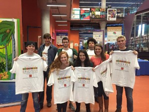 ELC students at 2015 EPIC Fest
