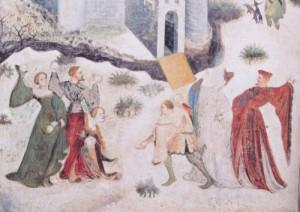 Snow Days Venceslao_Gennaio_Castello_Buonconsiglio_Trento_c1400_detail