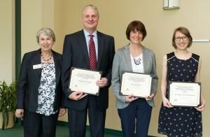 Dean Nancy Gutierrez and award winners