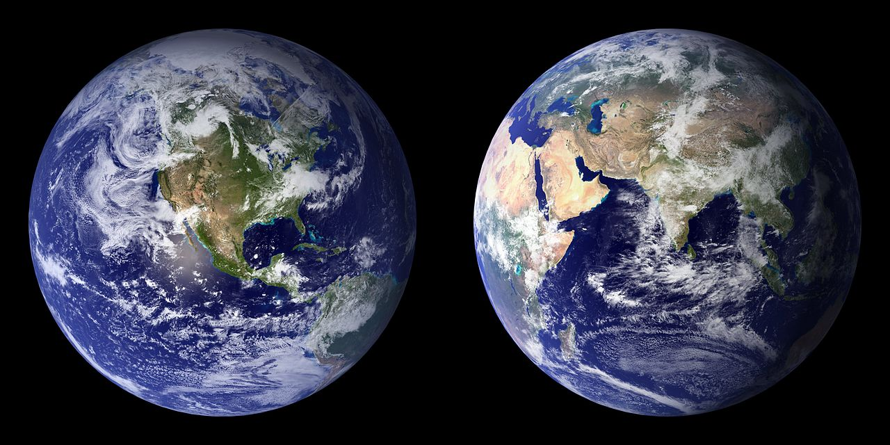 We have one Earth.  Let's argue in support of it.