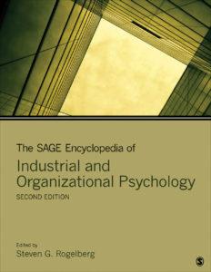 thesageencyclopediaofindustrialandorganizationalpyschology