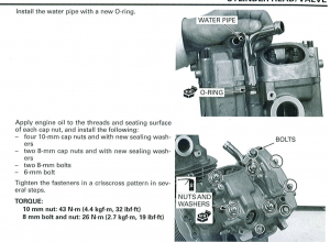 Honda manual images with labeling graphics