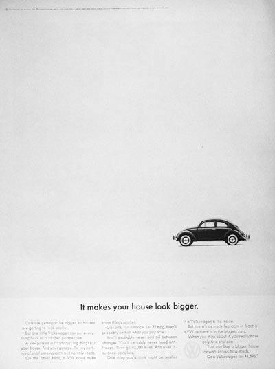 "Think Small"" Advertising Campaign | Visual Rhetoric"
