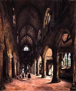rosslyn chapel daguerre